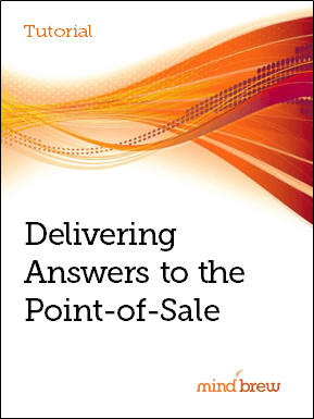 tut_delivering answers to the point of sale