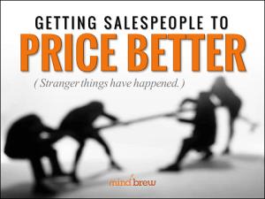 Getting Salespeople to Price Better Nar Splash
