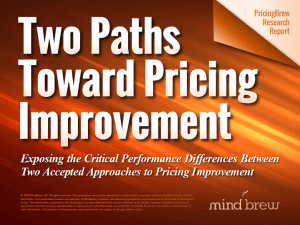 Two Pricing Paths Report Splash